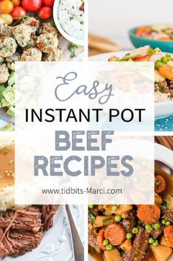 Easy Instant Pot Beef Recipes