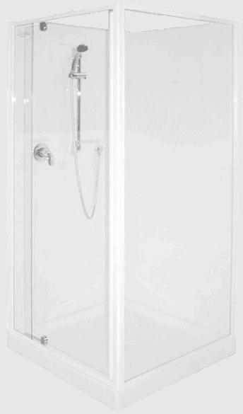 900 corner sq shower Henry Brooks