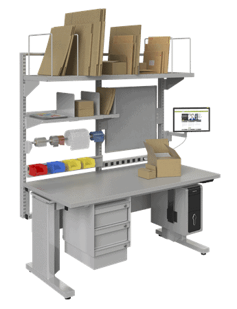 BOSTONtec electric height workstation