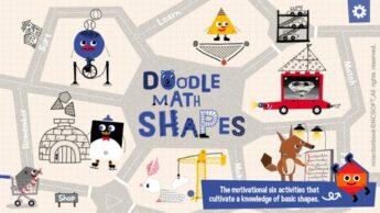 Doodle Math Shapes New STEM Apps for Kids math app