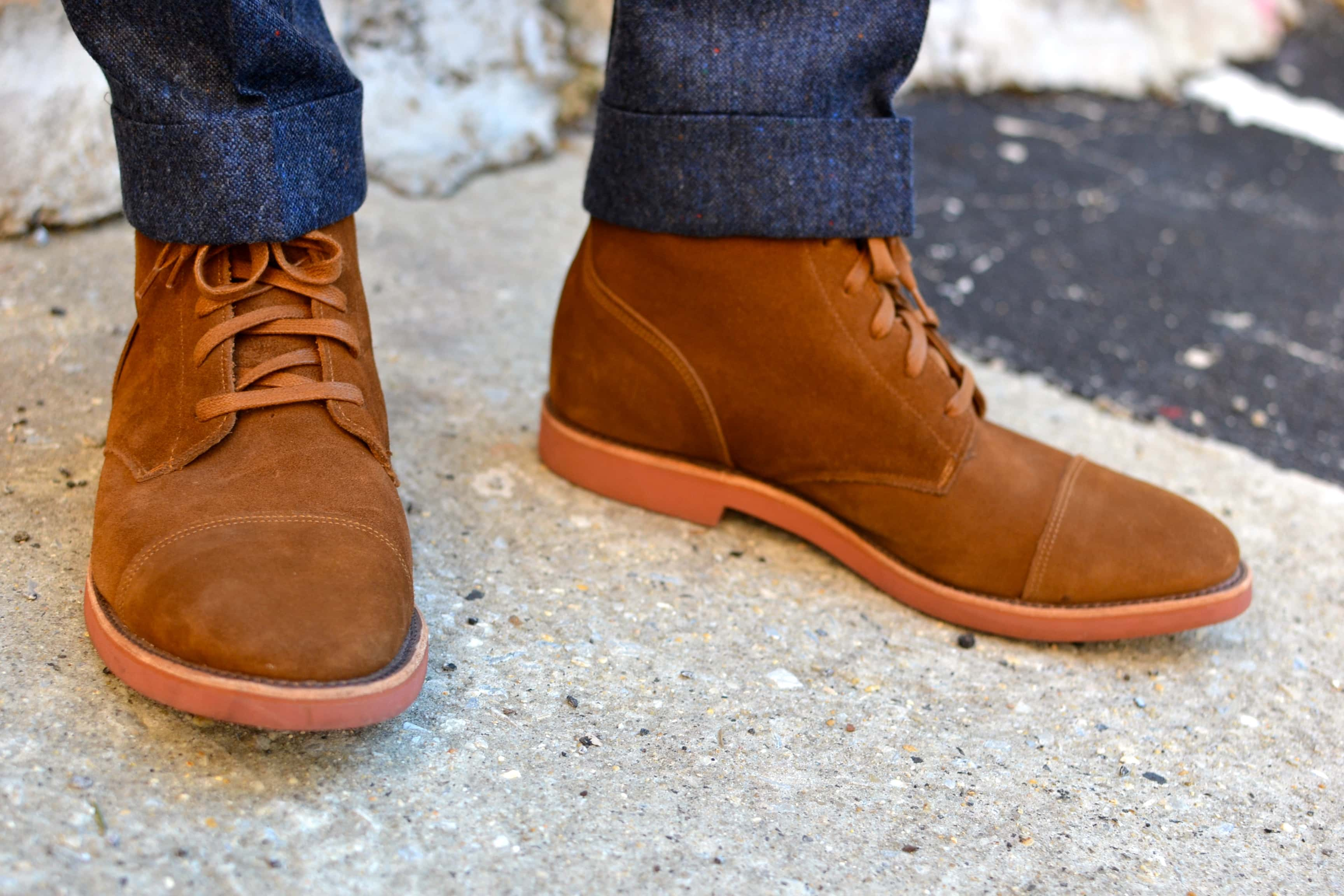 Humboldt Suede Boots by Walk Over Shoe Co