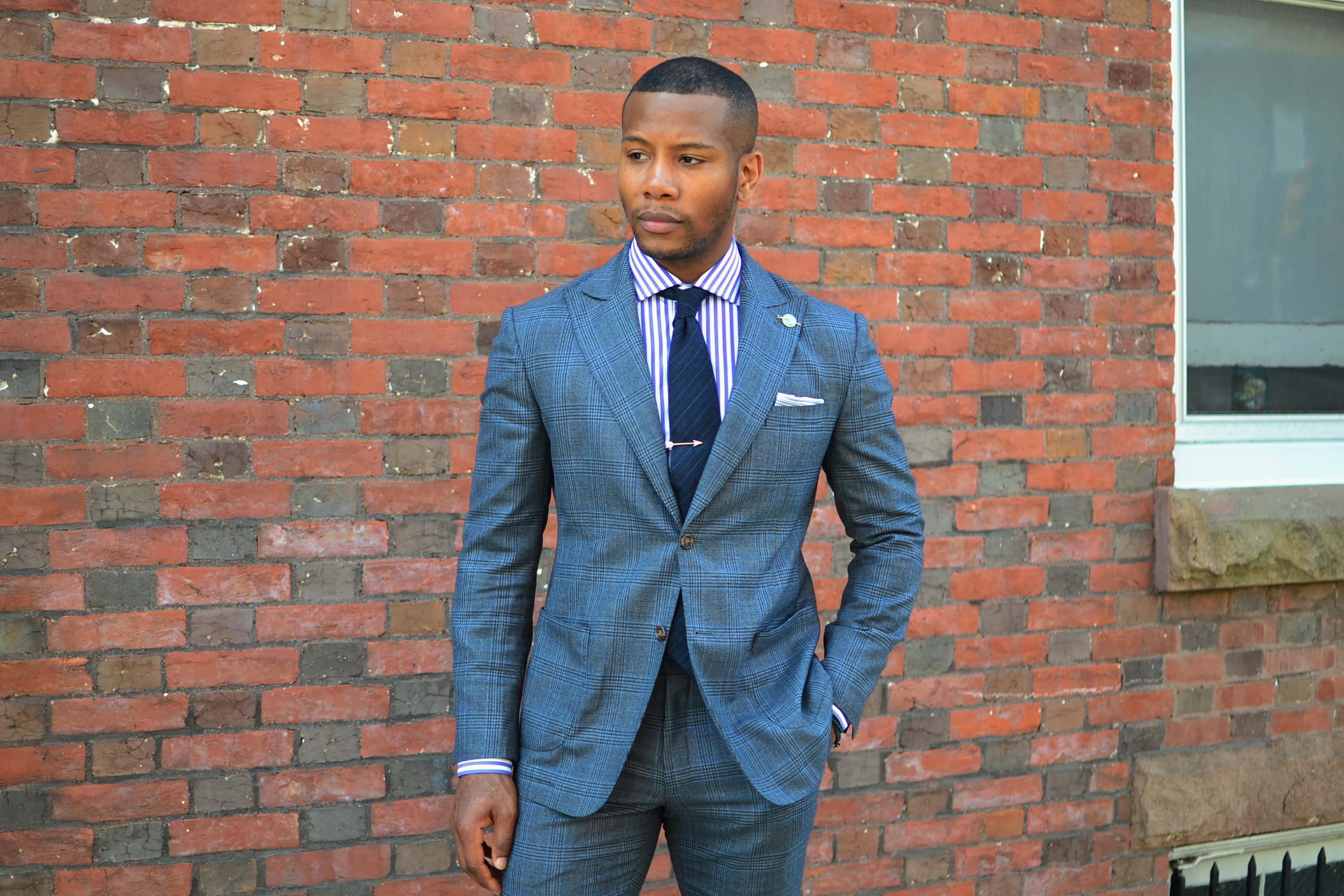 Buttons N Threads Glen Plaid Suit Review On Men's Style Pro