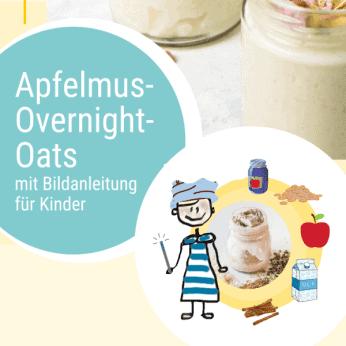 Rezept Apfelmus-Overnight-Oats
