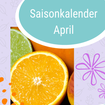 Saisonkalender April