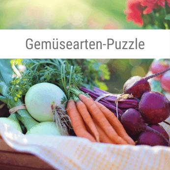 Gemüsearten-Puzzle-Spiel