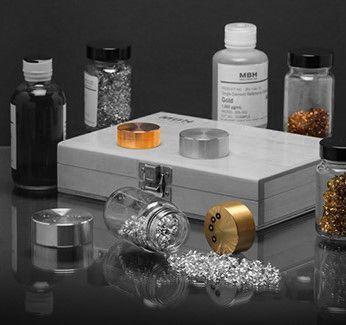 Patrones Certificados para Calibración de Espectrometros