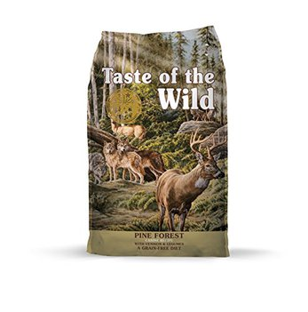 Taste of the Wild company history any good quality pine forest grain free dog food