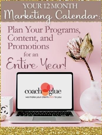 12 month marketing calendar