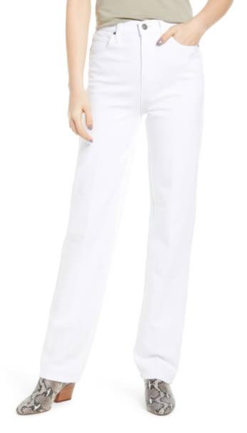streight leg white pants   40plusstyle.com
