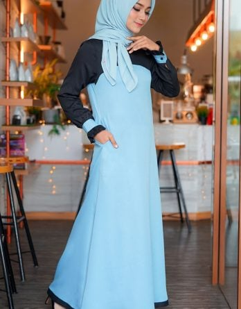 Rocella Dress Khanza - Sky Blue