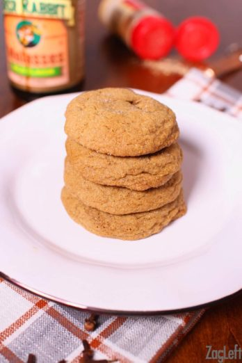 Perfectly spiced soft and chewy Gingersnaps, this small batch recipe is perfect for one or two people! One Dish Kitchen