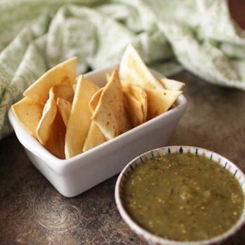 Baked Tortilla Chips | One Dish Kitchen | Game Day Recipes