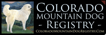 Colorado Mountain Dog Registry