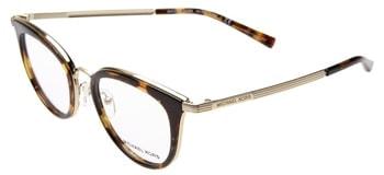 Michael Kors 50mm optical glasses | 40plusstyle.com
