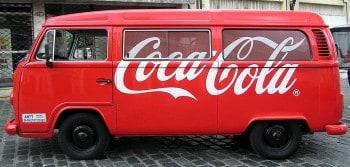 Coca-Cola, une entreprise présente sur les routes du monde entier. Photo prise au Brésil by Morio