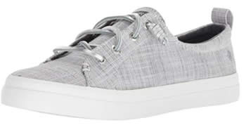 Sperry Top-Sider Women's Crest Vibe gray Sneaker | 40plusstyle.com