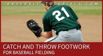 BASEBALL FIELDING CATCH AND THROW