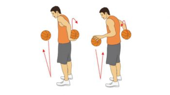 Triangle Flip Flop Basketball Dribbling Drill