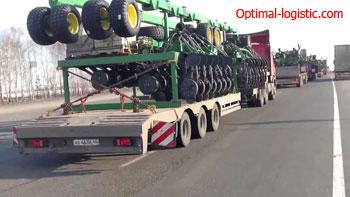 Transportation of seeders http://optimal-logistic.com