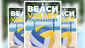 Volleyball Flyer Template