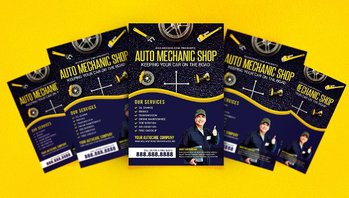Automobile Flyer Template
