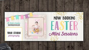 Easter Facebook Cover Template