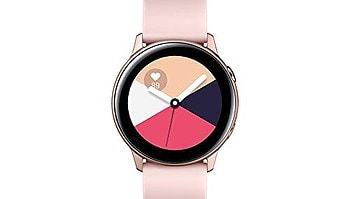 Amazon Galaxy Fit Smartwatch Active in gold-rosa