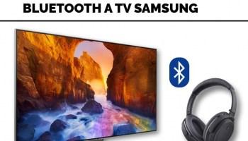 Como conectar auriculares bluetooth a TV Samsung