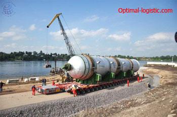 Перевозка реактора http://optimal-logistic.com