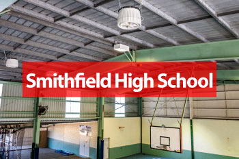 Smithfield High School Benefit with Airius Cooling Fans