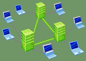 Usenet-servers synchroniseren bestanden zoals films en series onderling.