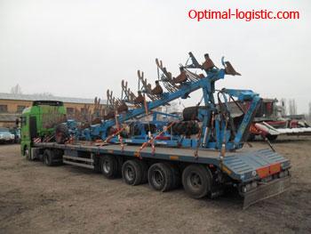Перевозка культиватора по Украине, Европе и средней Азии - http://optimal-logistic.com