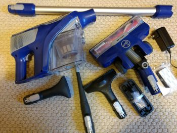 Hoover Impulse Cordless Stick Vacuum Cleaner BH53020 accessories