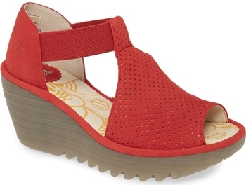 Shoes for wide feet - Fly London 'Yemo' sandal | 40plusstyle.com