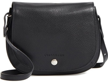 Longchamp crossbody bag | 40plusstyle.com