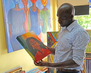 Oniel Cunningham of CARICS international Fine Arts Festival in Montego Bay, Jamaica to expose budding artists across the Caribbean