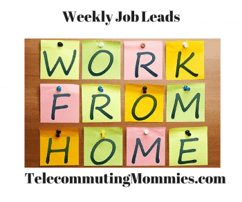 weekly work at home jobs