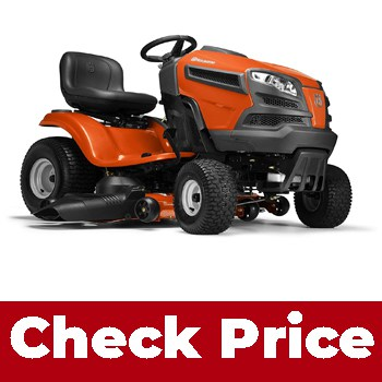 Husqvarna YTH24V48 (Best riding lawn mower for rough ground)