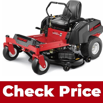 Troy-Bilt Mustang 54 25HP (Best riding lawn mower for steep slopes)