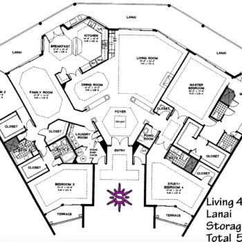 Crescent Penthouse Floor Plan