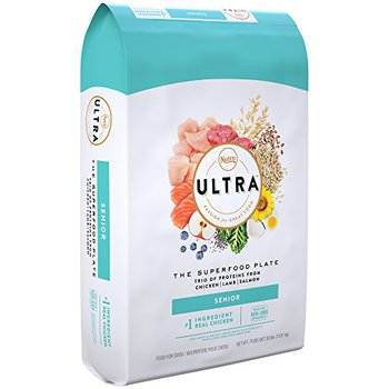 nutro ultra senior superfood plate chicken lamb salmon for old dogs