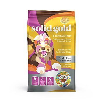 solid gold young at heart holistic food for senior dogs all sizes breeds
