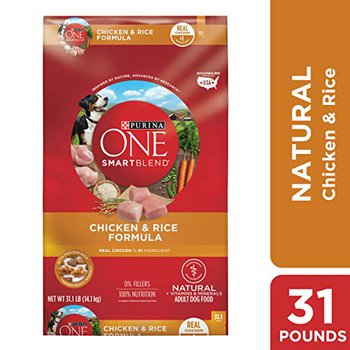Purina One best seller Smart Blend chicken and rice formula recipe