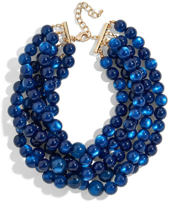 statement necklace | 40plusstyle.com