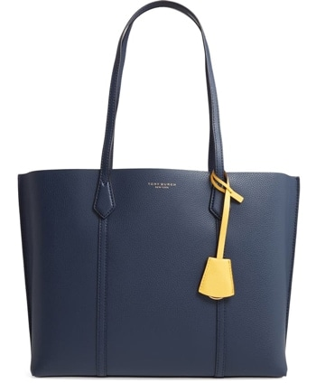 the most chosen stylish clothes of the year - Tory Burch leather tote | 40plusstyle.com