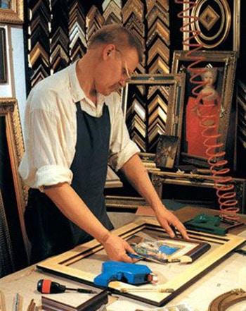 Оформление картин в багет
