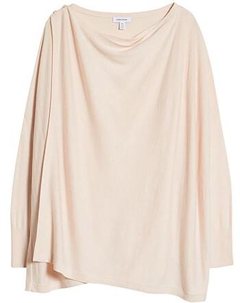 Nordstrom drape cardigan | 40plusstyle.com