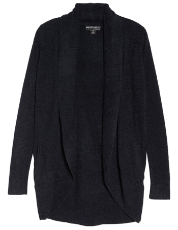 Barefoot Dreams circle cardigan | 40plusstyle.com