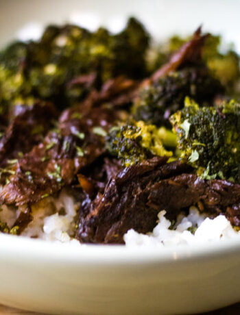 Crock Pot Broccoli Beef