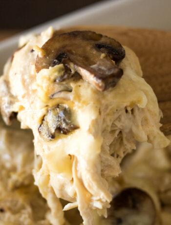 Mushroom Swiss Chicken Casserole